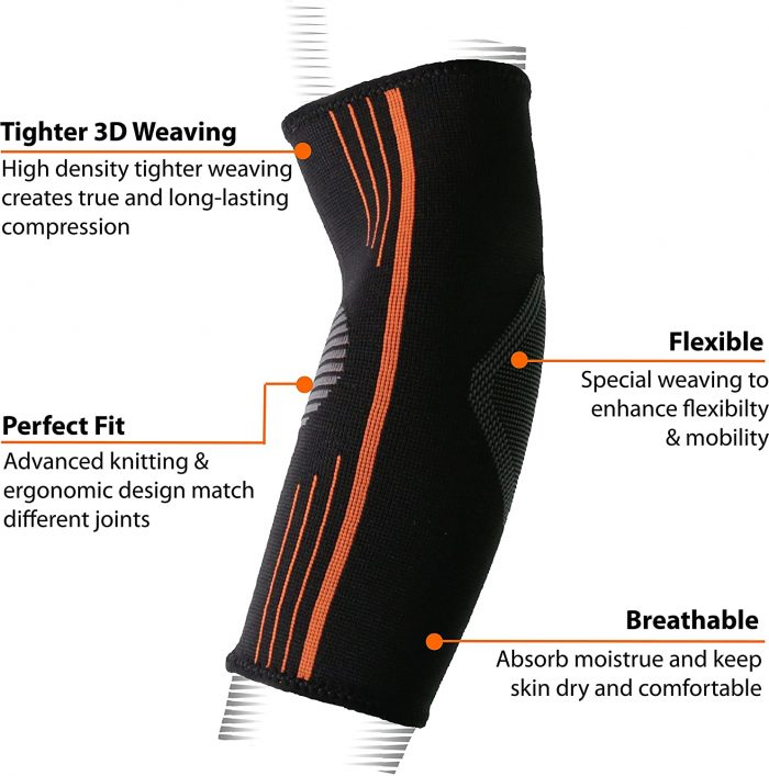 NeoAlly® Compression Elbow Sleeves | Breathable, Long-Lasting Compression | NeoAllySports.com