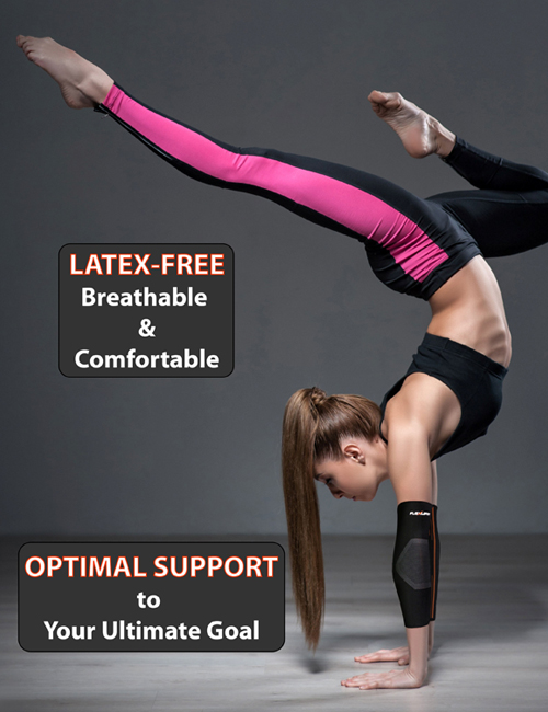 NeoAlly® Compression Elbow Sleeves - Latex Free, Strong Support | NeoAllySports.com