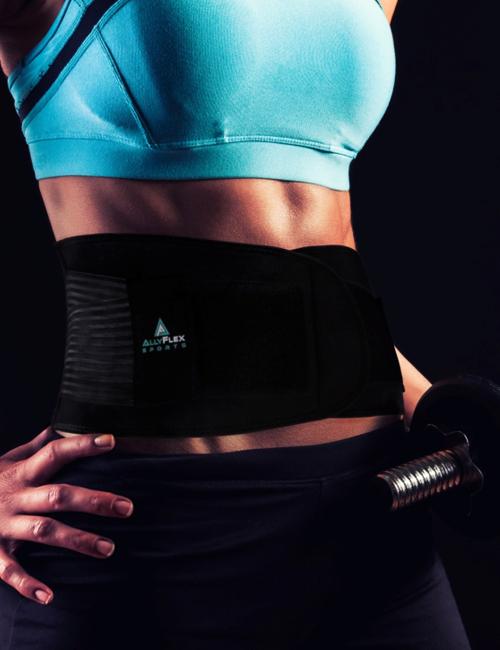 AllyFlex Sports® Women's Back Brace - Adjustable for Custom Fit   NeoAllySports.com
