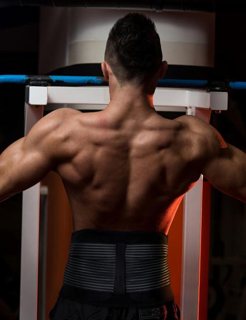 AllyFlex Sports® Men's Back Brace - Workouts   NeoAllySports.com