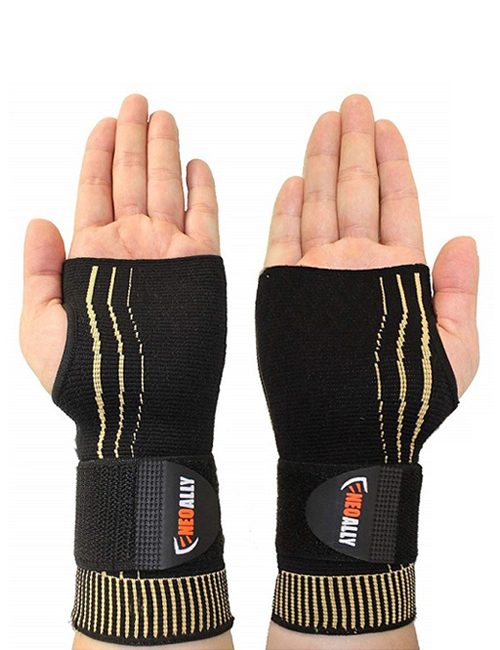 NeoAlly® Copper Wrist Support with Adjustable Strap | NeoAllySports.com