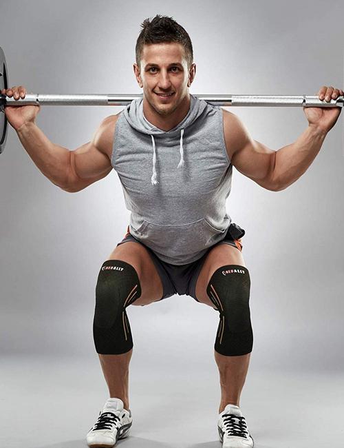 NeoAlly® Sports Knee Sleeves - Weightlifting | NeoAllySports.com