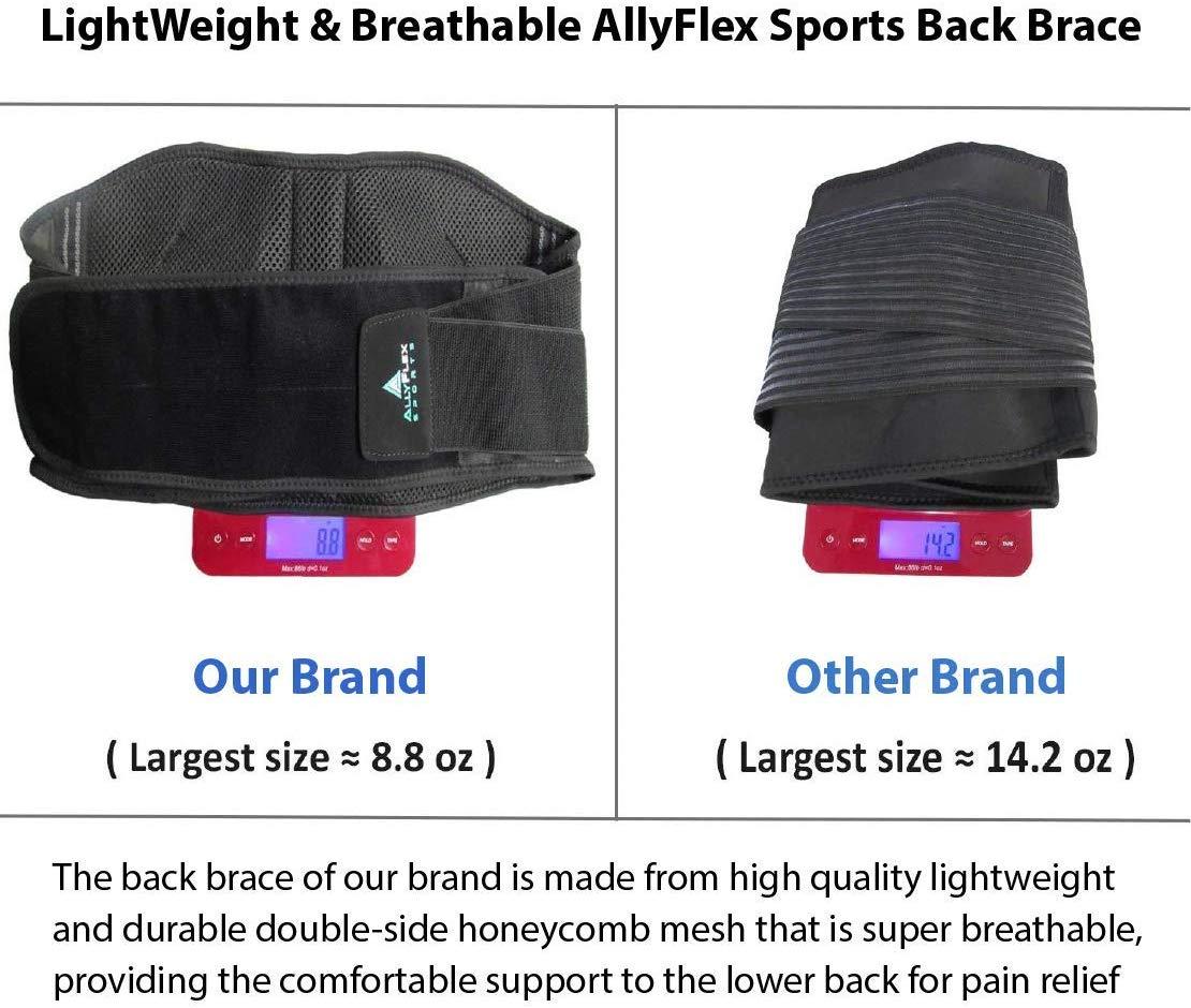 AllyFlex Sports® Lightweight Back Brace - High Quality, Durable Materials  NeoAllySports.com