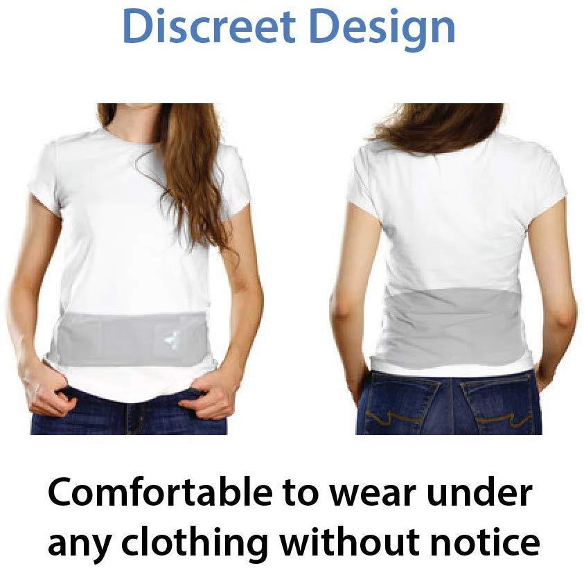 AllyFlex Sports® Lightweight Back Brace - Wear Under Clothing   NeoAllySports.com