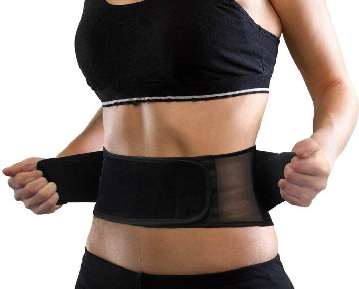 AllyFlex Sports® Lightweight Back Brace - Adjustable Straps for Custom Fit   NeoAllySports.com