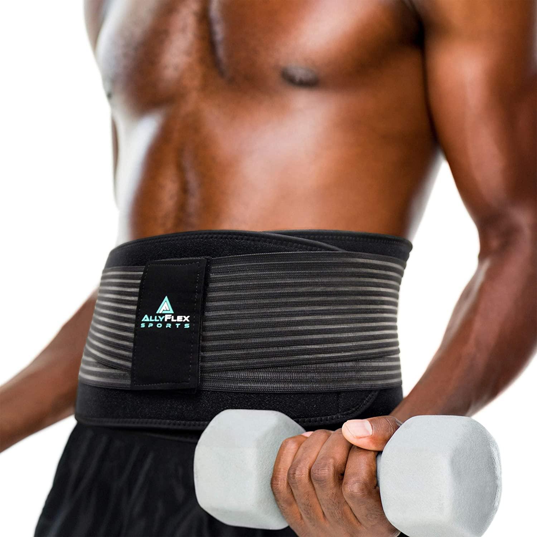 AllyFlex Sports® Men's Back Brace   Weightlifting   NeoAllySports.com
