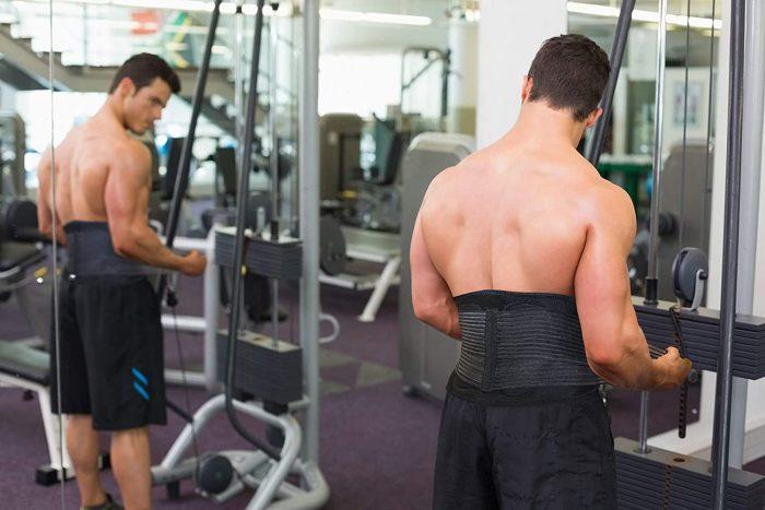 AllyFlex Sports® Back Brace for Women & Men   Back Support for Weight Training   NeoAllySports.com
