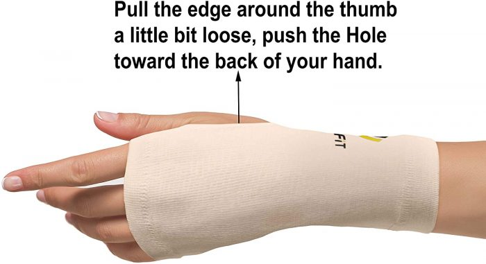 Uptofit® Copper Wrist Compression Sleeve for Carpal Tunnel | How To Wear | NeoAllySports.com