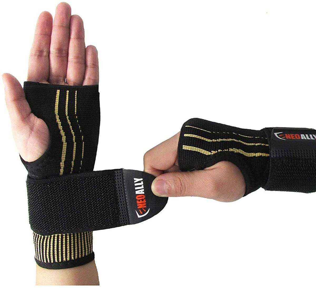 NeoAlly® Copper Wrist Support with Adjustable Strap for Custom Fit | NeoAllySports.com